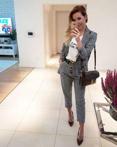 "Gefällt 1,210 Mal, 30 Kommentare - SYLWIA 💋 (@_magnesstyle_) auf Instagram: ""A dobry wieczór 😎 #polishgirl #instagirl #outfit #fashionlover #suit @mango @deezeeshoes #shoes…"""