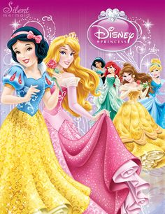 Disney Princesses - The New Design by ~SilentMermaid21 on deviantART