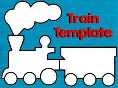 train bulletin board | Polar Express Train Pattern