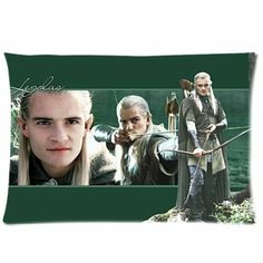 The Hobbit Legolas Pillow Case - Good news for all the fan girls (and some fan guys) out there!  Now you can sleep with your favorite Elven archer!  LOL!