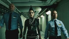 The Girl Who Kicked the Hornets Nest Lisbeth Salander, Noomi Rapace, Punks Not Dead, The Girl Who, Movies And Tv Shows, Canada Goose Jackets, Thriller, Motorcycle Jacket, Adidas Jacket