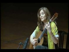 ▶ Berta Rojas plays Waltz op. 8 No. 4 and La Catedral by A. Barrios - YouTube