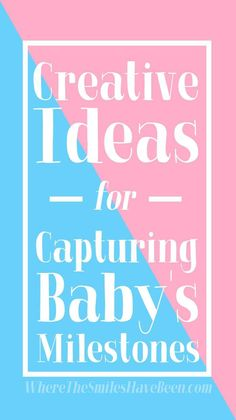 Creative Ideas for Capturing Baby's Milestones. You can try Nonidoo Milestone blankets for the monthly photos and for other milestones, as well. Gentle Parenting, Parenting Tips, Raspberry Leaf Tea, Kids Fever, Real Moms, Preparing For Baby, Before Baby, Baby Massage, News Website