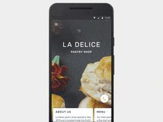 Mobile Design Inspiration — Restaurant app for Android by Bien — The Best. Best Ui Design, App Design, Anim Gif, Restaurant App, Mobile App Ui, Mobile Web, Mobile Ui Design, Ui Design Inspiration, User Interface Design