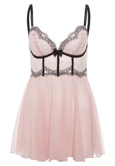 DKNY Intimates - SEDUCTIVE LIGHTS - Nachthemd - hush pink/black