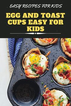 These scrumptious all-in-one breakfast muffins are pure genius and require just one muffin tin to create perfect single-serving portions. Iced Tea Recipes, Crab Recipes, Beef Recipes, Cookie Recipes, Chicken Recipes, Dinner Recipes, Low Crab Meals, Easy Meals, Breakfast Muffins