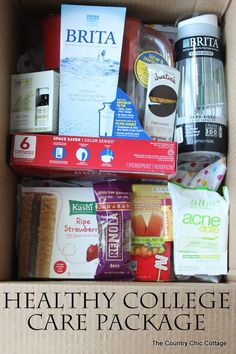 Send a healthy college care package to your new college student this semester! #ad