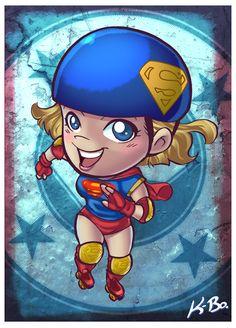 Super Girl by Kevin Bolk