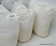 Learn to sew pillows with Turkish corners. This PDF will teach you ow so sew mock boxed pillows with various corner sty. Upholstery Repair, Upholstery Foam, Upholstery Cleaner, Furniture Upholstery, Upholstery Nails, Living Room Upholstery, Upholstery Cushions, Sewing Pillows, Piece A Vivre