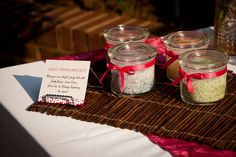 Favors at a Spa Party #spa #partyfavors