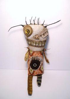 soft sculptures | Junker Jane Art Dolls and Soft Sculptures: New Handmade Voodoo Doll ...
