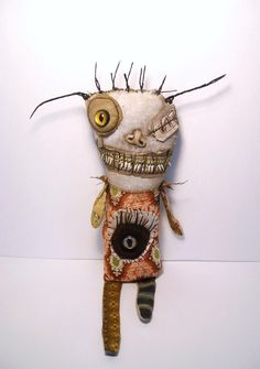 soft sculptures | Junker Jane Art Dolls and Soft Sculptures: New Handmade Voodoo Doll ...