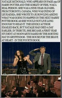 K Rowling is one of the best authors ever. Anyone who thinks her writing isn't the best or that Harry Potter is a dumb story, that's fine. But stuff like this is what makes her so great and unique. And she has a wonderful heart. Images Harry Potter, Harry Potter Love, Harry Potter Universal, Harry Potter Fandom, Harry Potter Memes, Harry Potter Sweets, Potter Facts, No Muggles, Yer A Wizard Harry