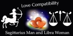 Sagittarius Man and Libra Woman Love Compatibility