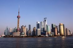 China is the third largest country in the world. Shanghai, China (source: wiki)