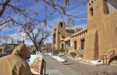 Santa Fe, N.M.~ New Mexico's 402-year-old capital, tucked into the foothills of the Sangre de Cristo range, may be America's most picturesque city after a snowfall.