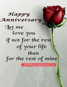 Wedding Anniversary Whatsapp Status