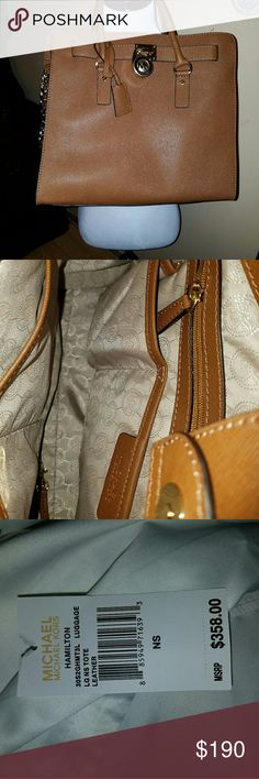 Michael Kors Purse Authentic MK purse brand New , beautiful Caramel color, i lot of space graet for waer in any occation Michael Kors Bags Shoulder Bags