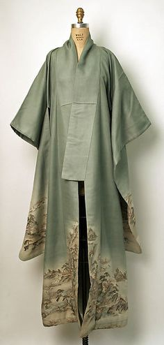 Lovely antique kimono, the back is beautiful, please view it at the Met museum site.