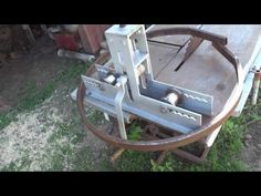 YouTube Bamboo Fountain, Metal Bending, Artisanal, Metal Working, Inventions, Homemade, Tools, Youtube, Outdoor Decor