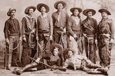 This leads to a shopping page, but I love the photo. Old West Cowboys Real Cowboys, Cowboys And Indians, Cowboy Art, Cowboy And Cowgirl, Old West Photos, Wild West Cowboys, Into The West, Cowboy Outfits, Charro