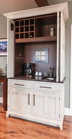 Self-contained cupboard with retractable doors Susan Serra - Google+
