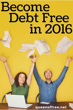 Looking to become debt free in 2016? Check out this post with great resources to fuel your journey!