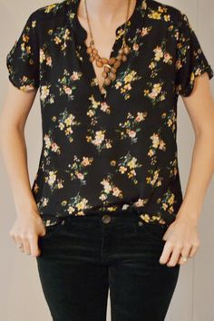 All around like. Been wanting a corduroy in the wardrobe, like the floral in a darker less overtly feminine color.