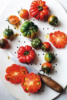 Kitchen Memories Lucy Boyd cookbook tomatoes ; Gardenista