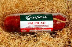 Gaspar's Salpicao 1 lb. Marinated pork that has been smoked with a mild flavor.
