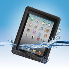 The Waterproof iPad Case - Now I could read and relax in the bathtub! Got to get me one of these.
