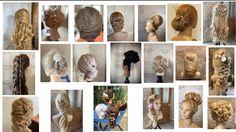 Bridal Hair, Bridal Hairstyles, Bride Hairstyles, Hairstyle Wedding, Hair Style Bride