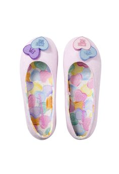 I Want Candy Couture Slippers | Peter Alexander