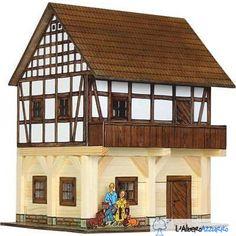 Walachia - Costruzioni in legno - N. 37 GRANAIO A GRATICCIO - Hobby Kits | lalberoazzurro.net