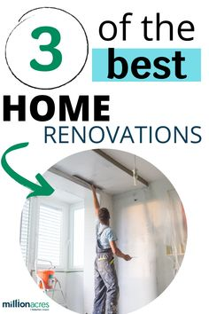3 Popular Home Renovations to consider doing to your home to make it more manageable when stuck indoors. Im Grateful, Eco Friendly House, Real Estate Tips, Home Improvement Projects, Real Estate Marketing, Home Renovation, Home Values, My Family, Home Buying