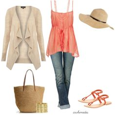 """Coral at the Farmer's Market"" by archimedes16 on Polyvore"