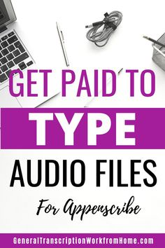 Transcription jobs for beginners with Appenscribe. No Experience Required. This is one of the best places to get started in transcription work from home. They hire beginning transcribers worldwide and have transcription work in many languages. #typingjobs #transcriptionwork #transcriptionjobs #noexperience #beginners #onlinejobs #workfromhome #sidehustles #remotejobs #workathome  #makemoneyonline #makemoneyfromhome Typing Jobs From Home, Online Typing Jobs, Online Side Jobs, Work From Home Jobs, Make Money From Home, Make Money Online, How To Make Money, How To Get, Transcription Jobs From Home