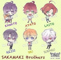Who's your favourite?// Mine is Reiji