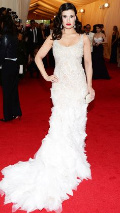 2014 Met Gala Red Carpet - Idina Menzel from #InStyle