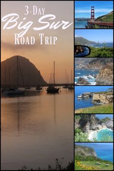 A 3-Day Big Sur Road Trip You Can Duplicate - (California, USA) Postcards & Passports