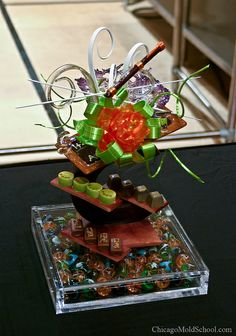 World Pastry Championship 2010 - The Chicago School of Mold Making #sugar #sugarflower