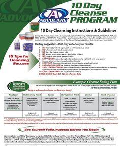 advocare cleanse plan | 10 Cleanse Program Ask me about AdvoCare... https://www.advocare.com/130723609