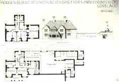 Country House Plans, Floor Plans, Cottage, Flooring, How To Plan, Architecture, House Ideas, Prints, Farmhouse