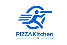 PIZZA Kitchen Greenock Logo