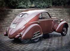 1935 Fiat 508 S MM Coupe #1930s #cars