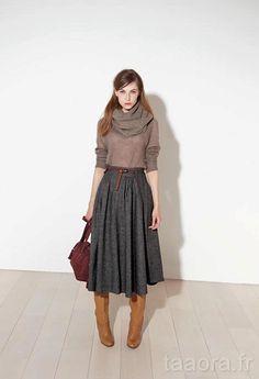 d0dff572cad9 Comptoir des Cotonniers Automne Hiver 2011-2012 – Taaora – Blog Mode,  Tendances, Looks
