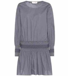 Robe en coton à smocks | See By Chloé