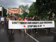 Bill C-51 and 'fascist shift' in Canada decried at Toronto rally | National Observer