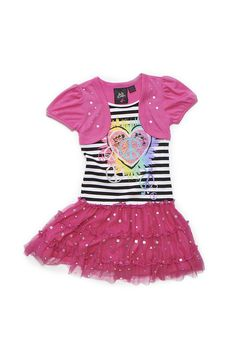 Girls Pink Peace Dress (available only in stores) Click image to see weekly ad  #MeijerKidsLooks and #BacktoSchool.