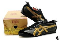 http://asicsoutlets.us/ Onitsuka Tiger Mexico 66 Shoes  Gold Black_asicsoutlets.us $70